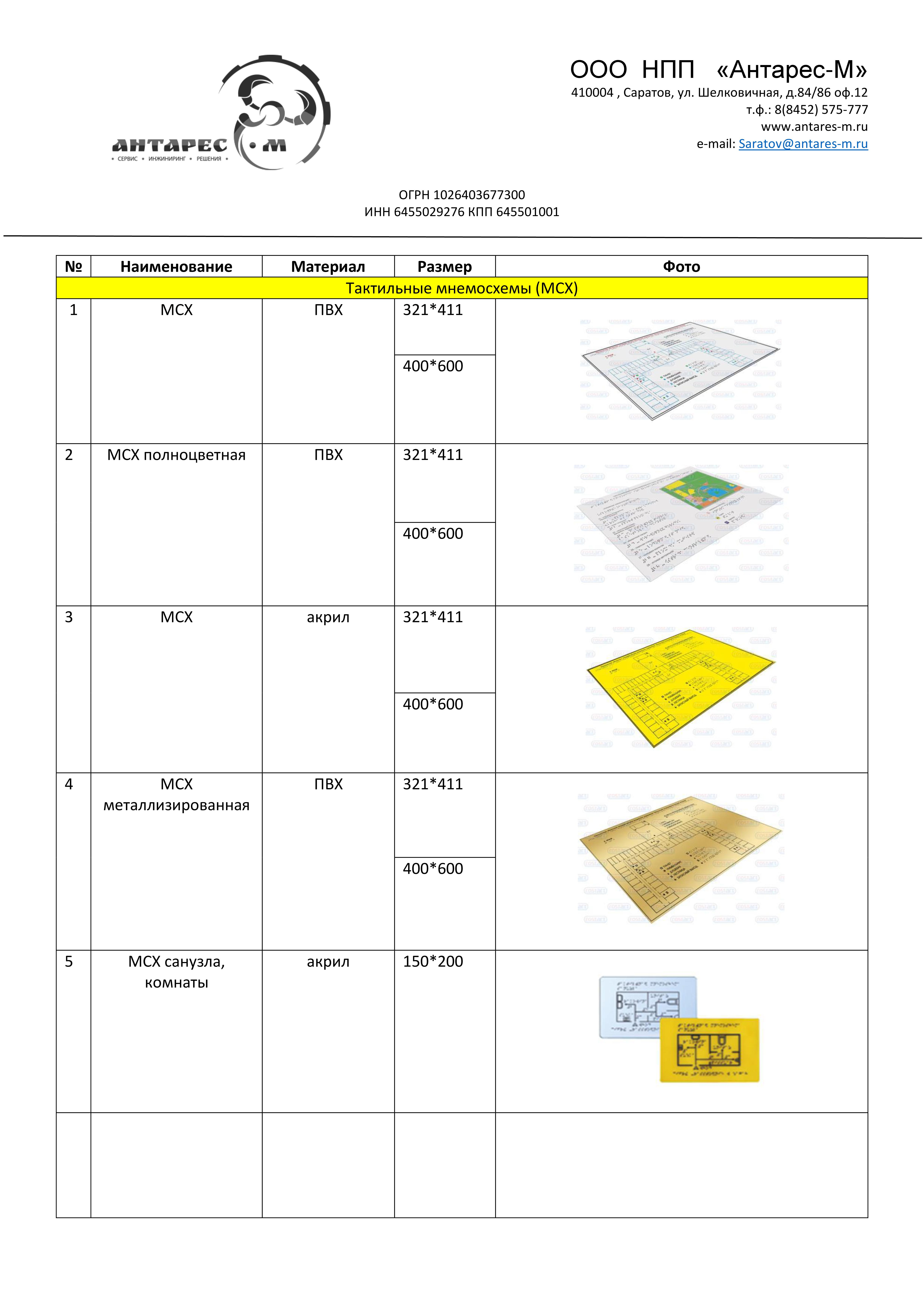 Каталог продукции для адаптации 171 Доступная среда 187